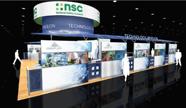 NSC Safety Technology Pavillion rendering